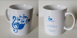 SWON mug bright blue